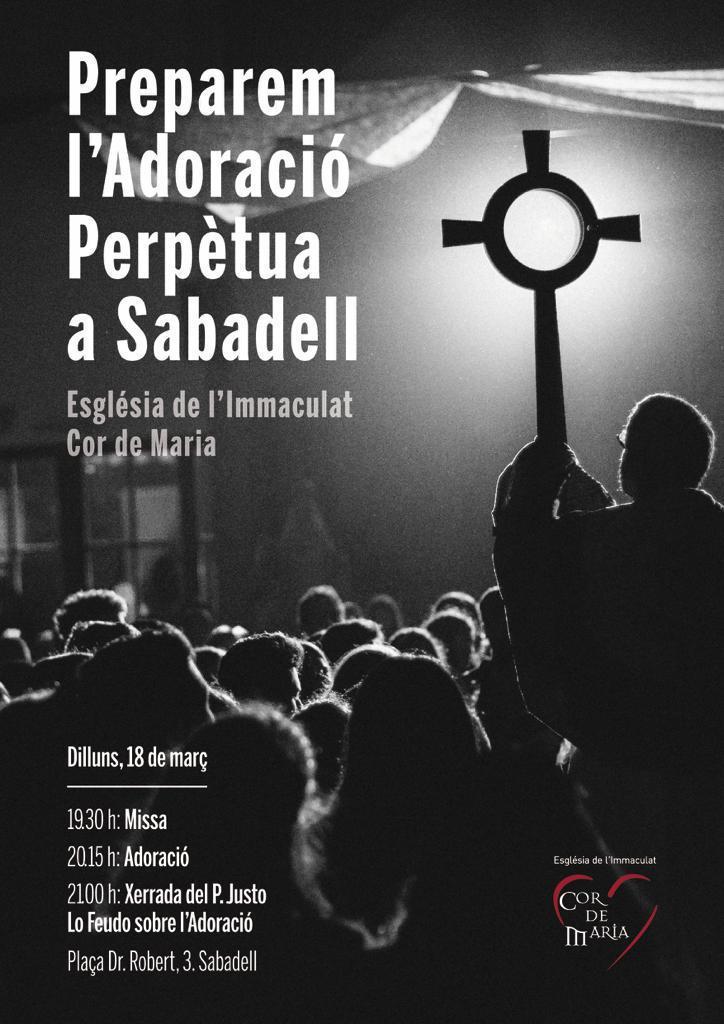 Empieza la misión para la adoración perpetua en Sabadell