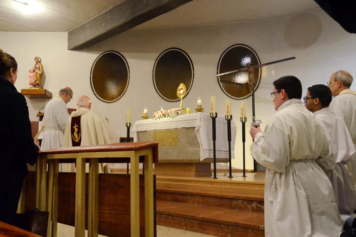 Santiago de Compostela ya tiene su capilla de AEP