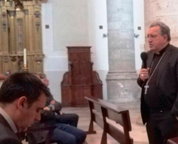 D. Ginés García Beltrán en el 10º aniversario de la AEP de Getafe