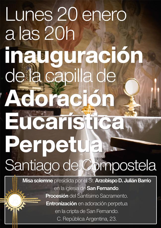 Inauguración AEP Santiago de Compostela