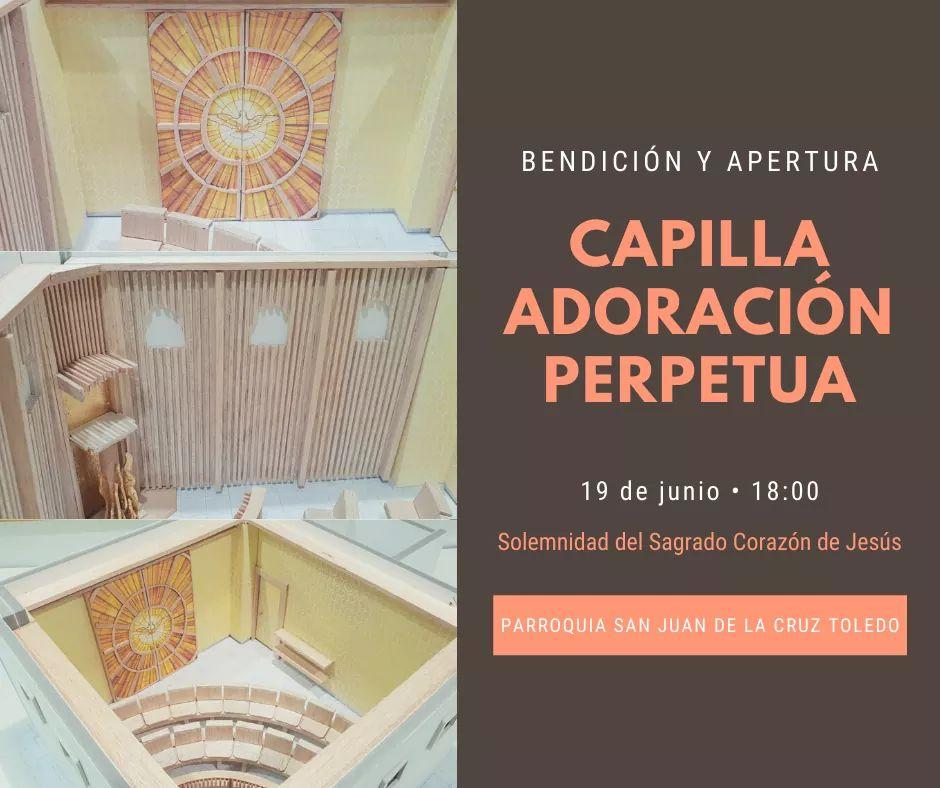 Nueva capilla AP en San Juan de la Cruz en Toledo